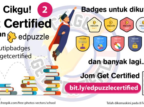 Cikgu Get Certified - Edpuzzle