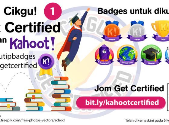 Cikgu Get Certified - Kahoot