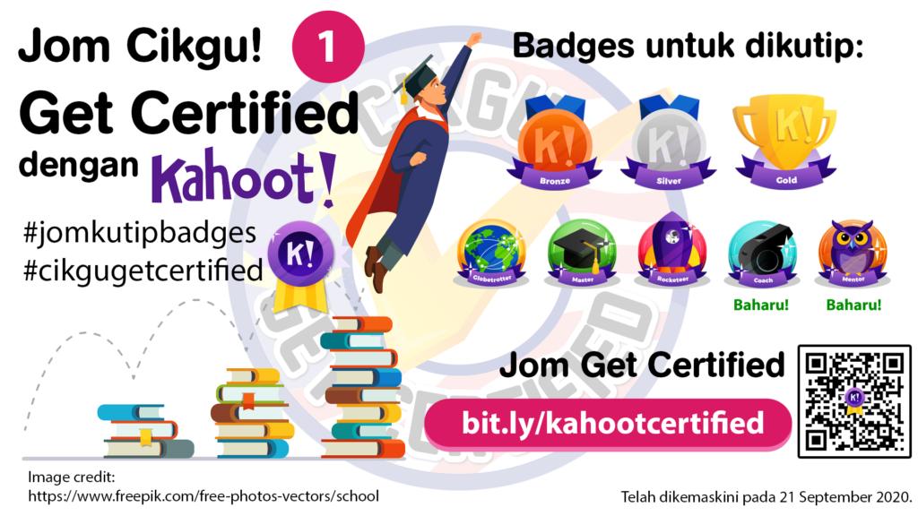 Cikgu Get Certified - Kahoot Certified (September 2020)