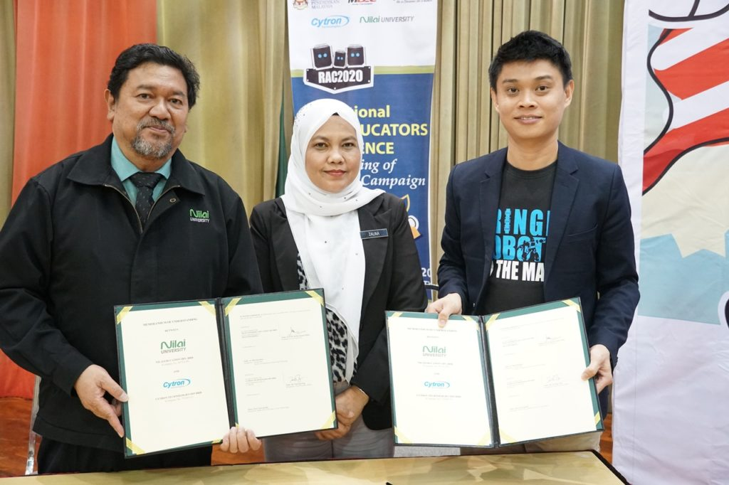 Memorandum persefahaman (MoU) antara Nilai University dan Cytron Technologies