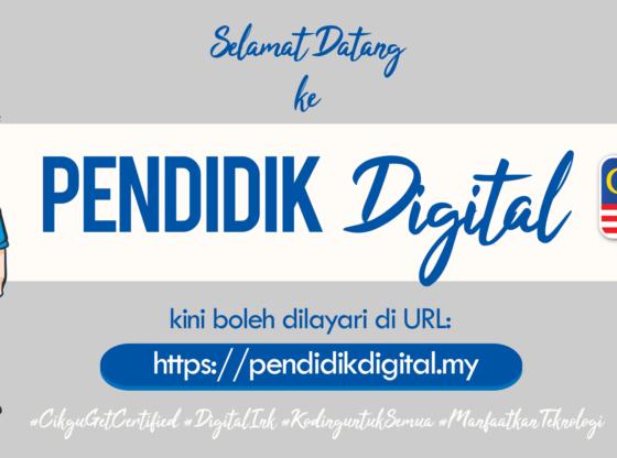 Selamat Datang ke Blog Pendidik Digital MY