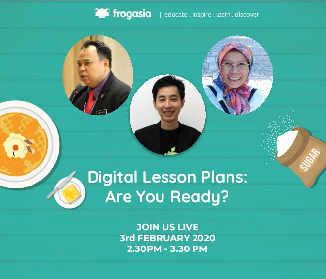 Sesi Webinar Waffle#1 2020 - Digital Lesson Plans: Are You Ready