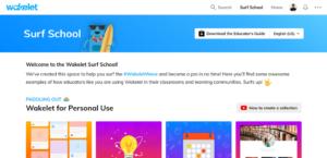 Wakelet Surf School - Panduan mencipta Koleksi