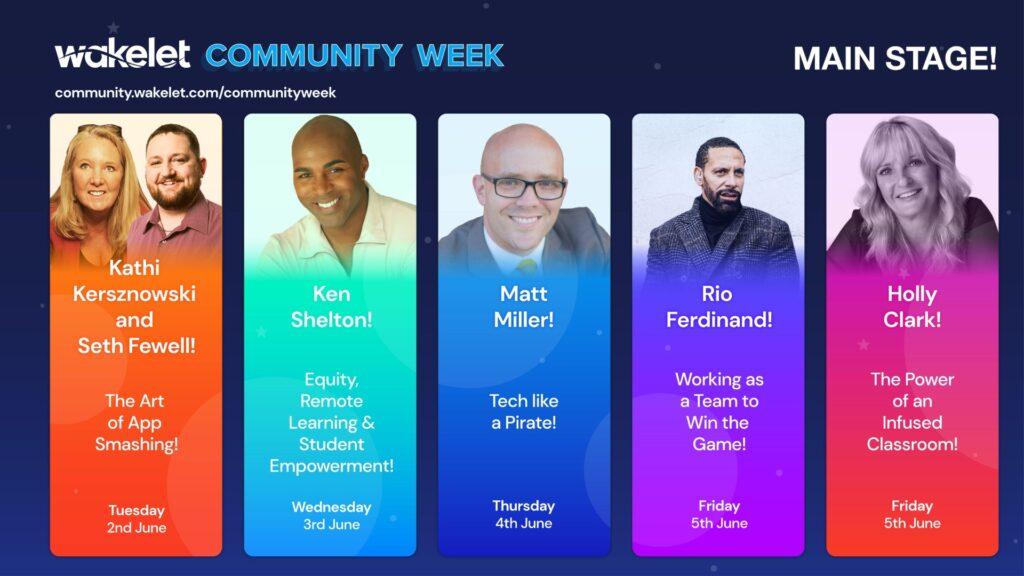 Wakelet Community Week - Sesi Webinar (Pentas Utama)