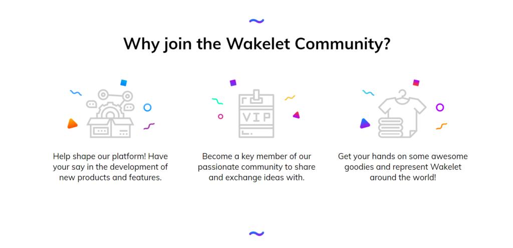 Kelebihan Menyertai Komuniti Wakelet