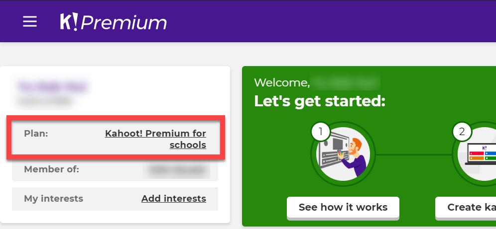 Pelan Kahoot Premium Secara Percuma