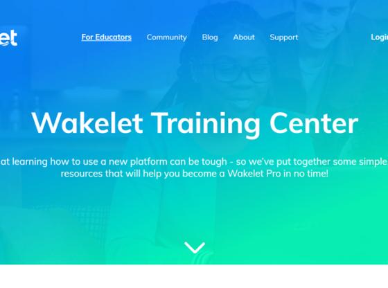 Wakelet Training Center - Halaman Utama