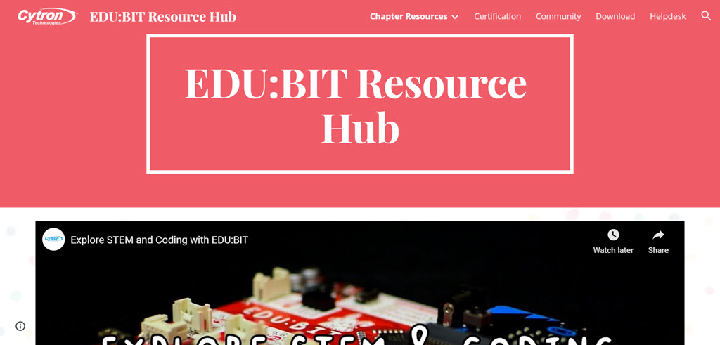 EDUBIT Resource Hub