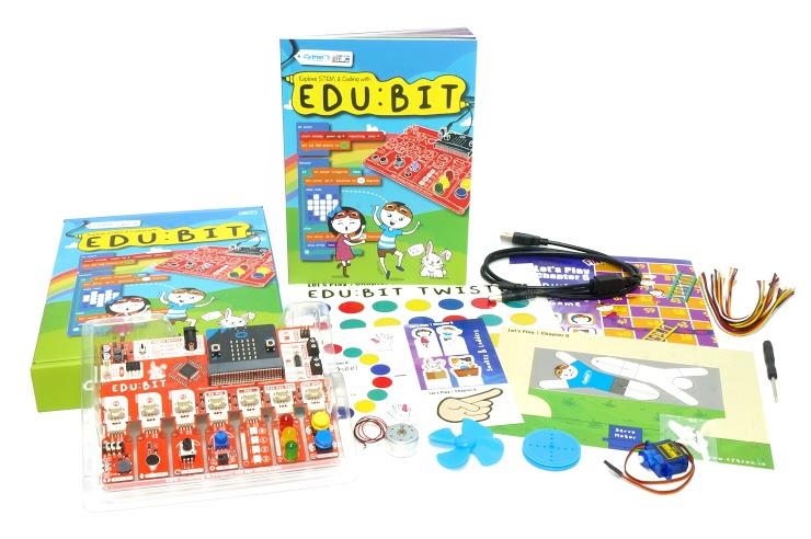 Semua yang terdapat dalam Kit Pembelajaran EDU:BIT