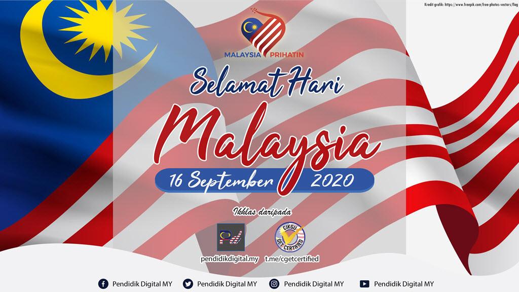 Selamat Hari Malaysia 2020 daripada Pendidik Digital MY dan Cikgu Get Certified