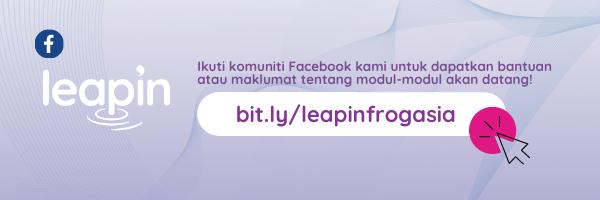 Sertai Komuniti LeapIn di Facebook