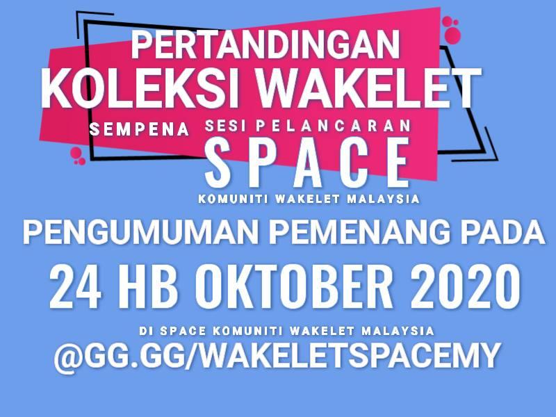 Pengumuman Pemenang Koleksi Wakelet pada 24hb Oktober 2020