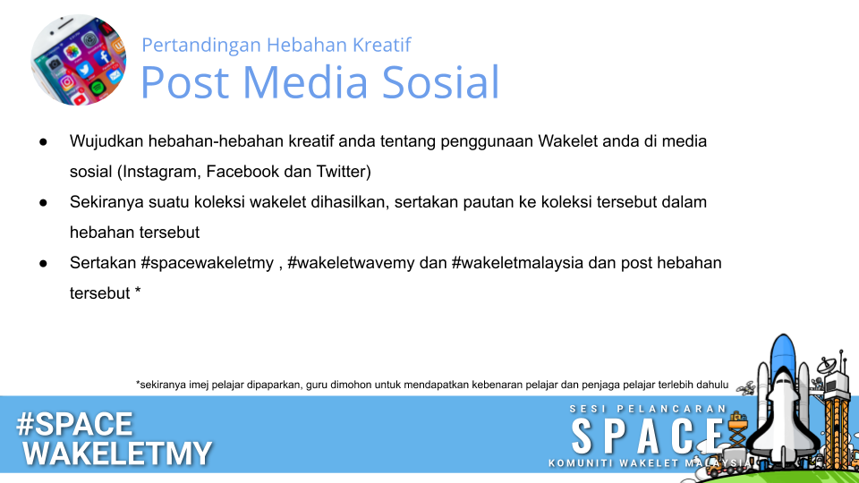 Pertandingan Hebahan Kreatif Post Media Sosial