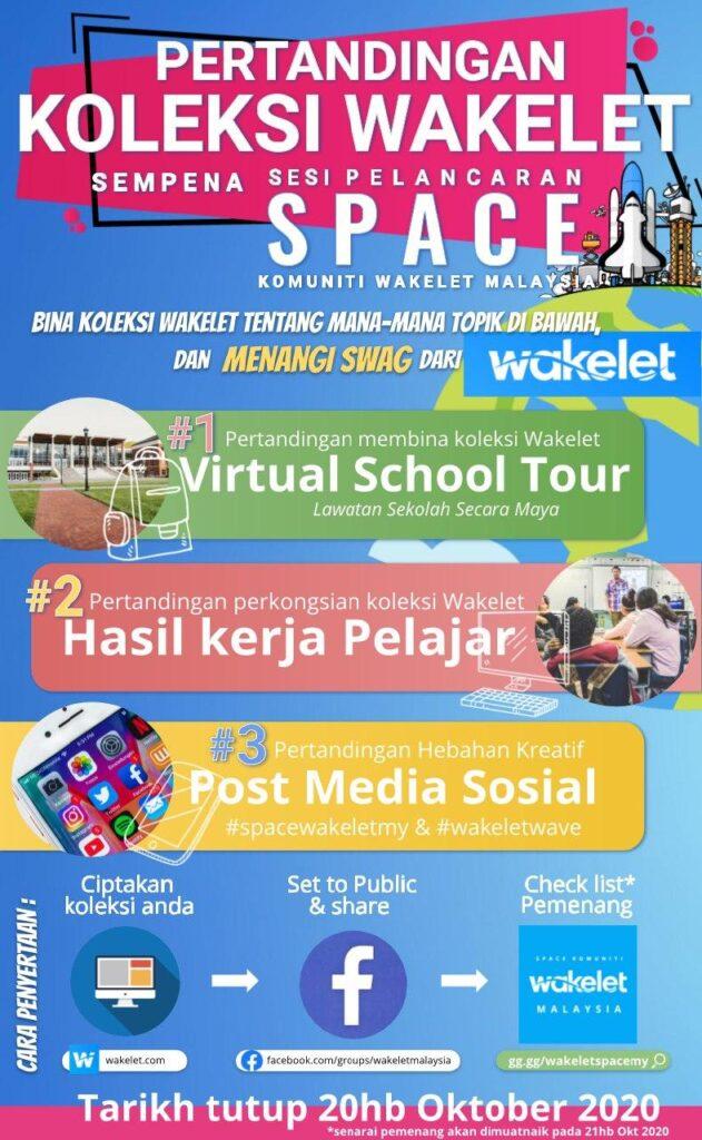 Pertandingan Koleksi Wakelet Sempena Sesi Pelancaran SPACE Komuniti Wakelet Malaysia