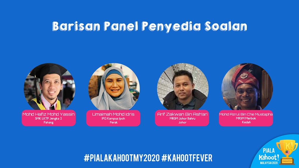Pertandingan Piala Kahoot! Malaysia 2020 - Barisan Ahli Panel (Sekolah Menengah)