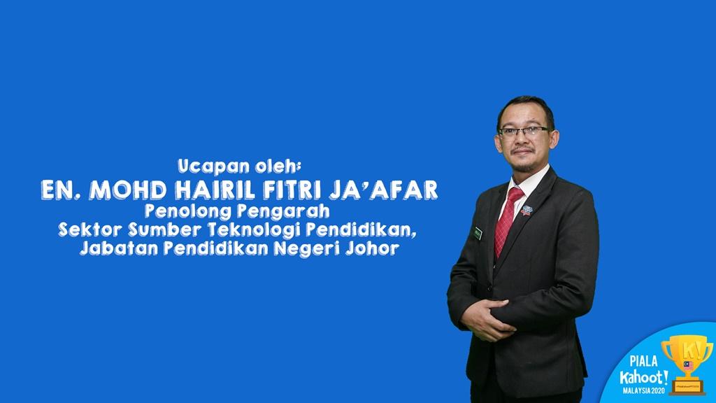 Ucapan En Hairil Fitri, Penolong Pengawai SSTP JPN Johor