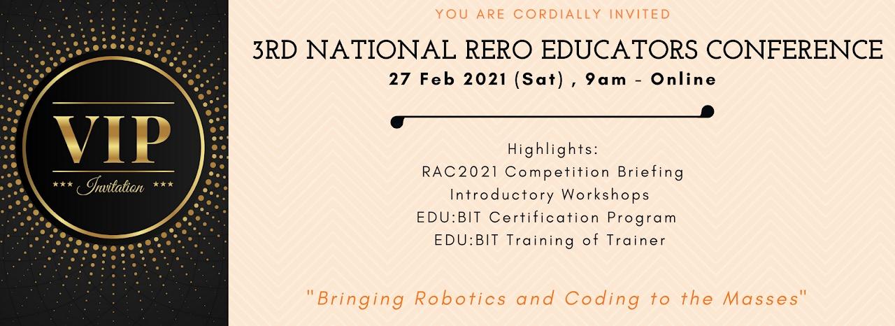 Jemputan ke Rero Educators Conference 2021