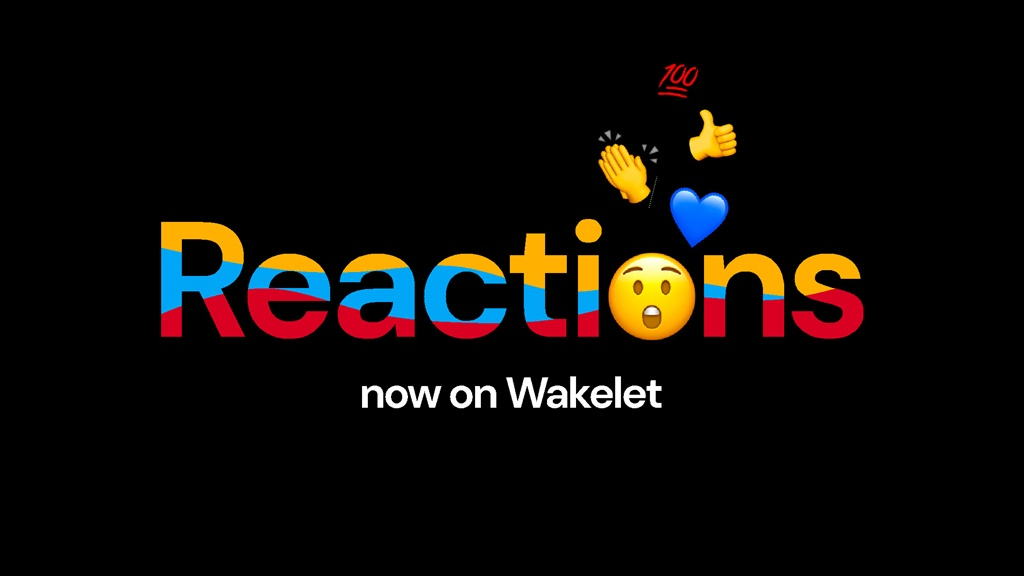 Wakelet kini hadir dengan fitur Reactions