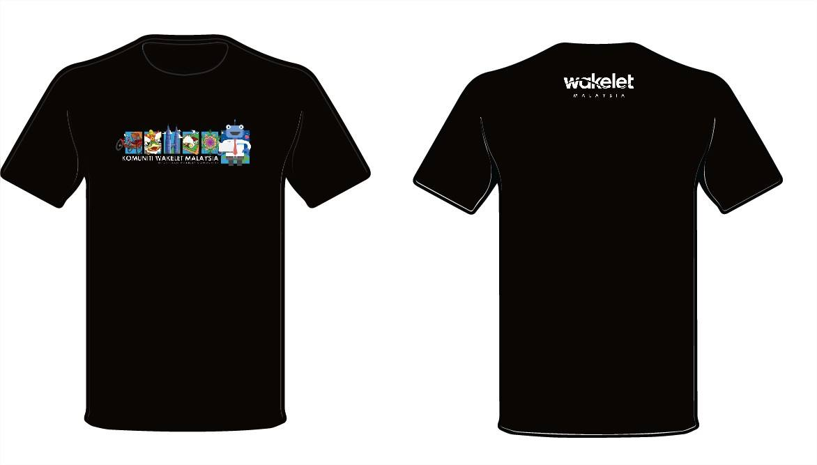 Spice Up Wakelet Training Sessions with Kahoot! - Wakelet Malaysia's First Webinar - Malaysian Wakelet Community T-shirt