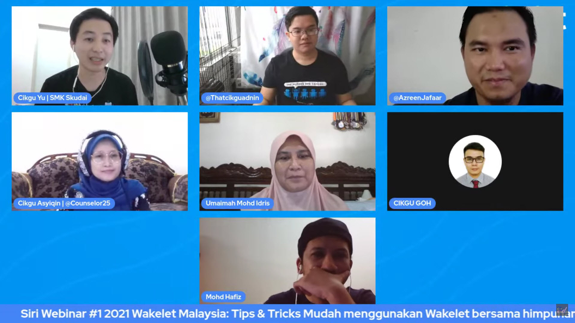 Spice Up Wakelet Training Sessions with Kahoot! - Wakelet Malaysia's First Webinar - Wakelet Ambassador MY